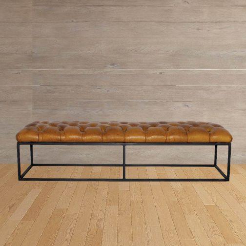 Brooklyn Foostool Leather