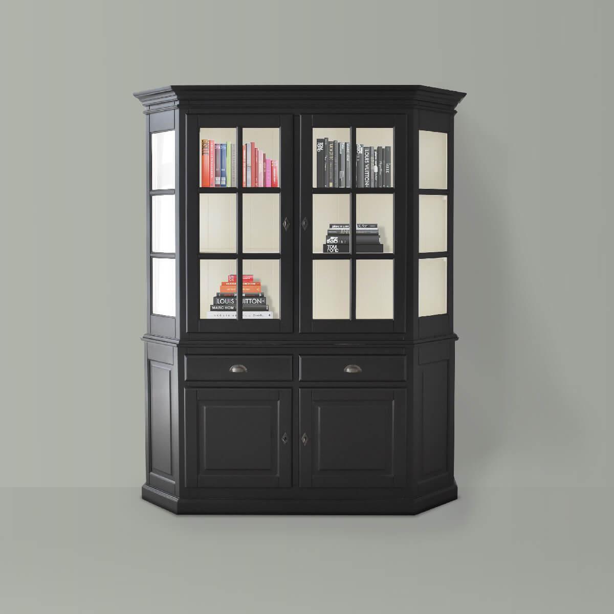 Bernard Cabinet in Black-cozyhome-dubai