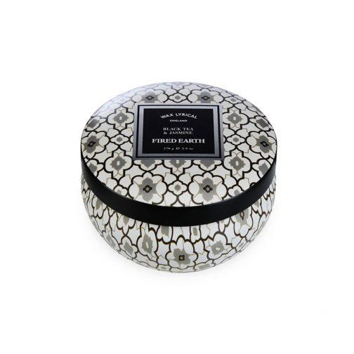 Black Tea & Jasmine Candle Tin