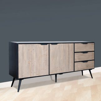 Carlos Sideboard with 2 Door & 3 Drawer