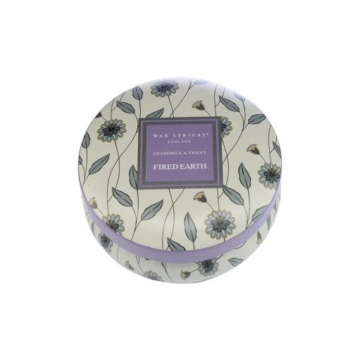 Chamomile & Violet Candle Tin