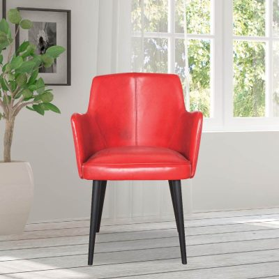 Coque Leather Dining Chair