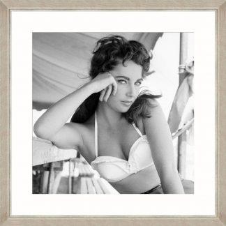 Elizabeth Taylor Framed Art