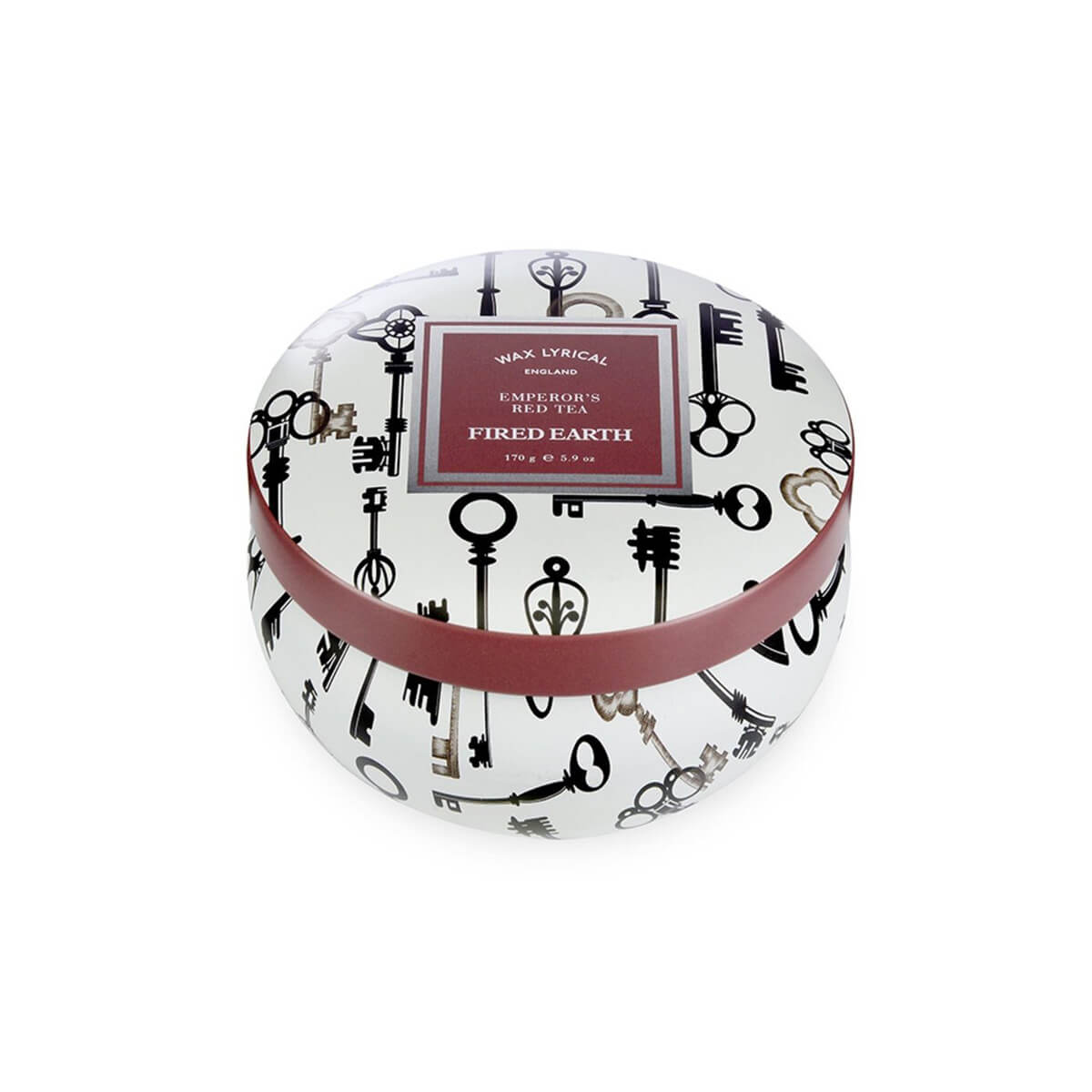 Emperor's-Red-Tea-Candle-Tin