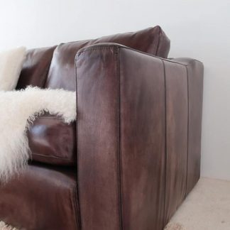 Kennedy 3 Seater Leather Sofa