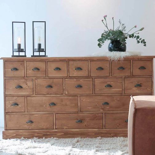 Lisbon Chest of 19 Drawers