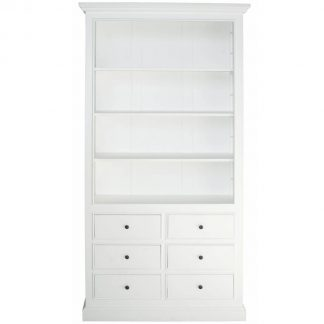 Spencer 6 Drawer Open Book Shelf