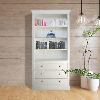 Spencer 3 Drawer Open Book Shelf