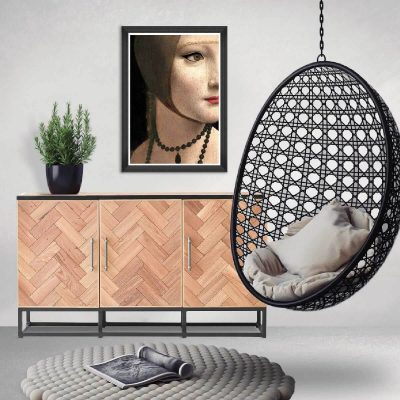 Sterling Parquet Sideboard