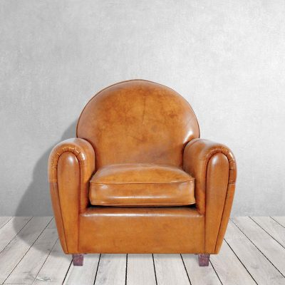 Taylor Leather Club Chair