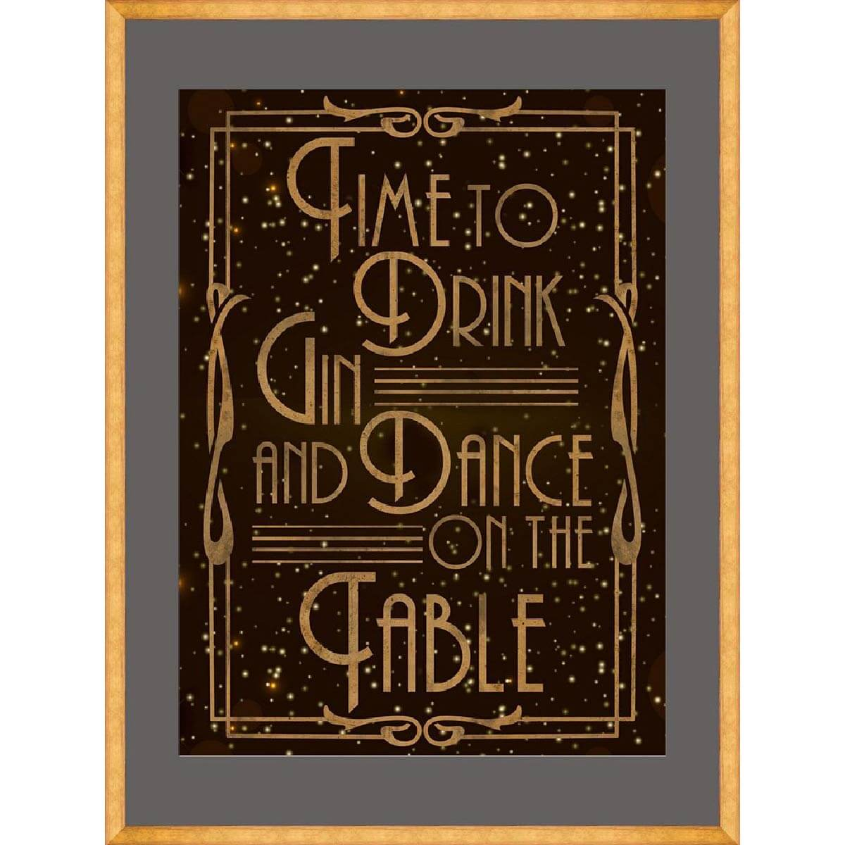 Time-to-Party-Framed-Art