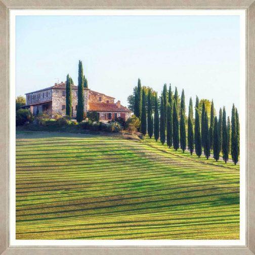 Tuscany Views 2 Framed Art