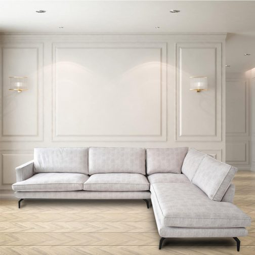 South Port L-Shaped Sectional Lounger
