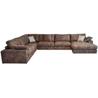 U-Shaped large sectional sofas in abu dhabi