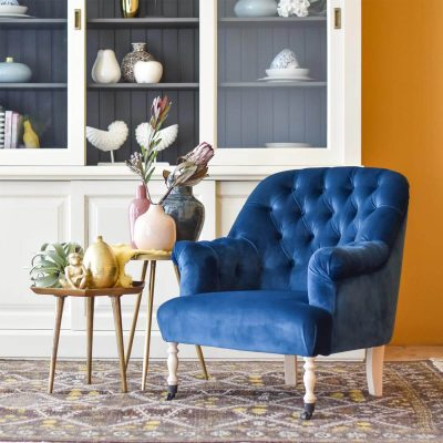 Oxford Armchair – Blue