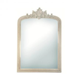 Versailles Mirror in White – Medium