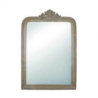 Versailles Mirror in Weathered Brown Small