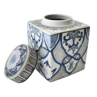 White & Blue Jars