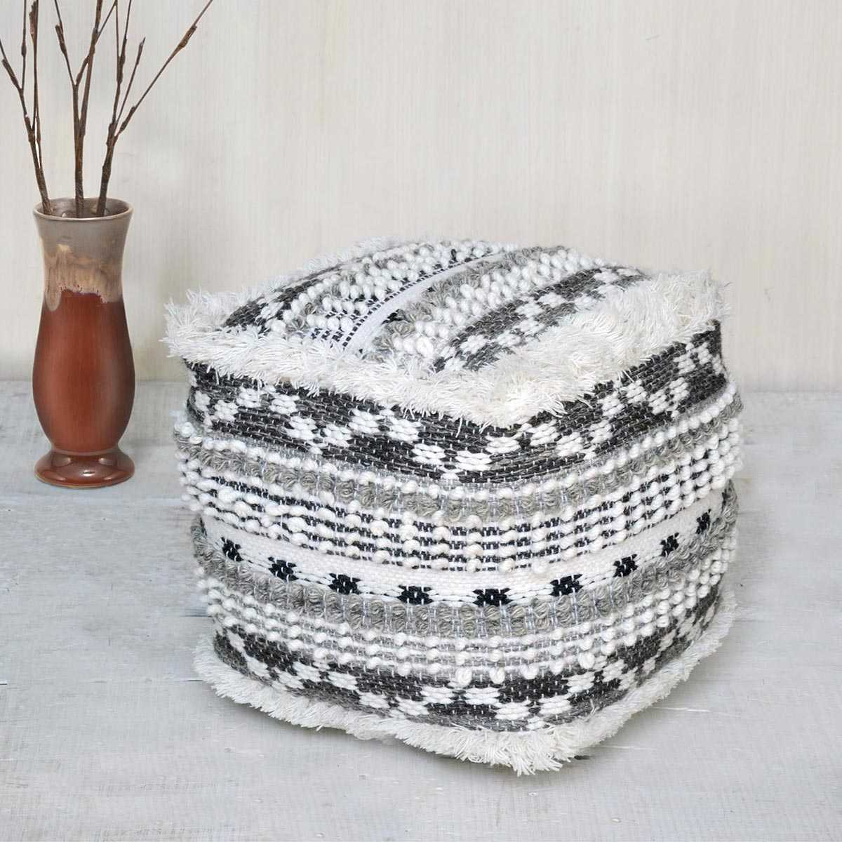Damithu Living Room Pouf offer CozyHome Dubai