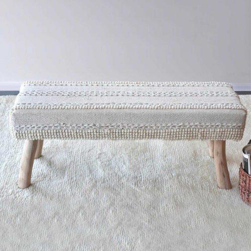 Dina 2-Seater Bench for Sale CozyHome Dubai