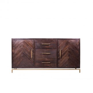 Lucien 3 Drawers & 2 Door Sideboard