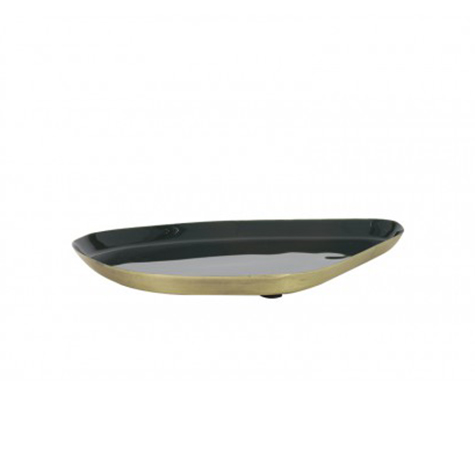 Dark-green-Enamel-tray-21x17-cm-in-dubai-cozy-home