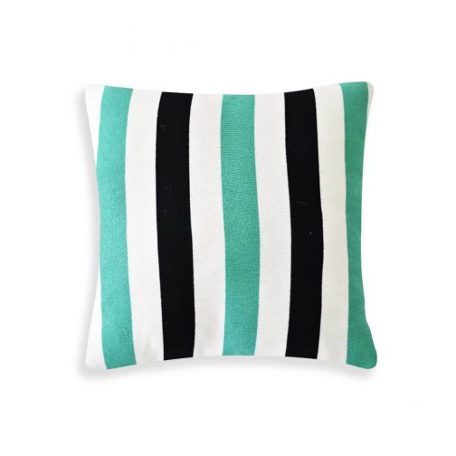 Geometric Cushion Green