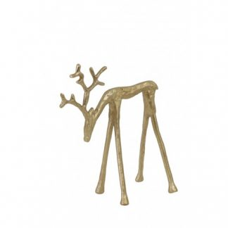 Golden Deer 20cm home decor in dubai cozy home