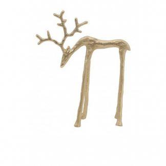 Golden Deer 25cm home decor in dubai cozy home