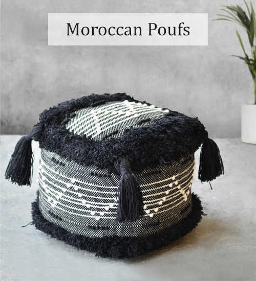 Best Poufs, Benches, Footstools in Dubai, Abu Dhabi, UAE Cozy Home