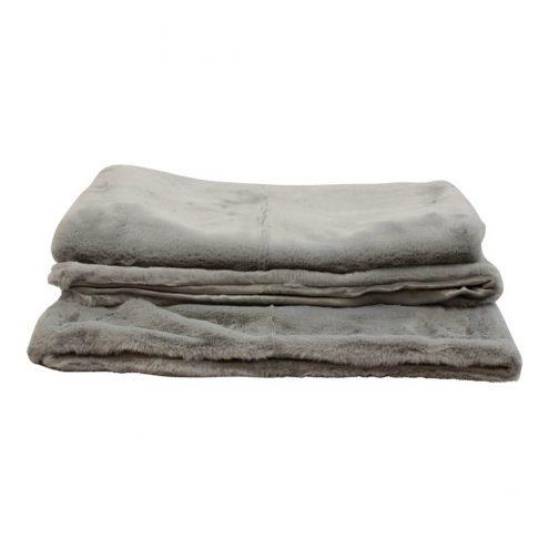 Throw Soft Grey 130 x 170cm
