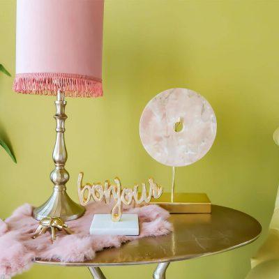 Clara Fringe Table lamp