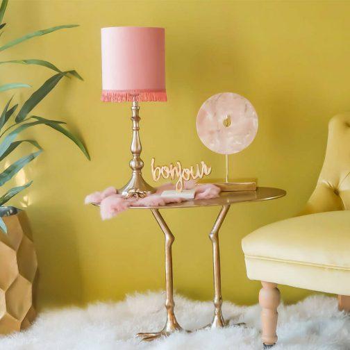 Bronze Feet Coffee Table