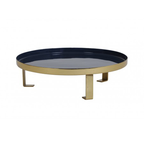dark-blue-gold-Enamel-Tray-in-dubai-cozy-home
