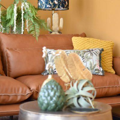 Kenzo Leather Sofa