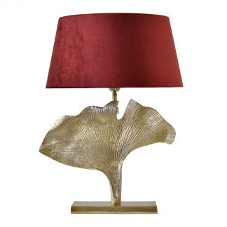 light-bronze-leaf-table-lamp-in-dubai-cozy-home