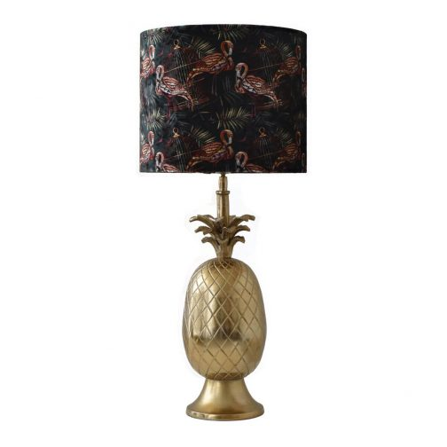 Gold Pineapple Table Lamp IV