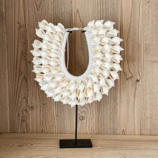 Shell Necklace White