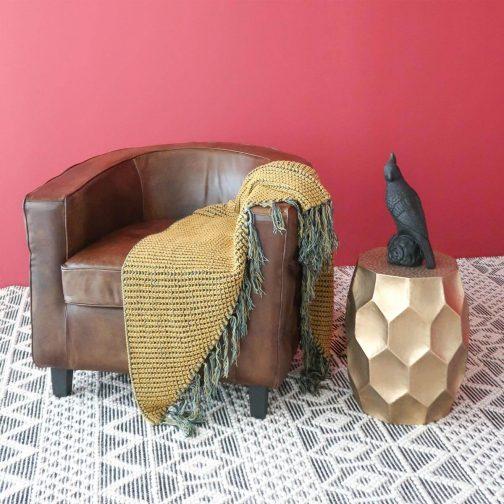 Havana Leather Club Chair