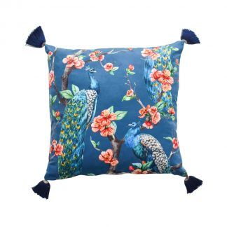 peacock-cushion-with-tassel-in-dubai-cozy-home