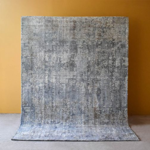 Arano Silver Lilac Hand Woven Rug – 190x290cm