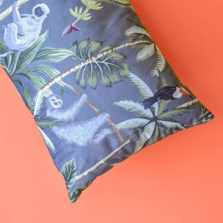 Tropical Grey Cushion 35 x 55cm