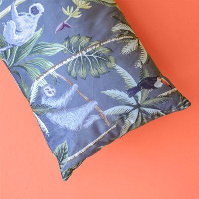 Tropical Grey Cushion 35 x 55cm