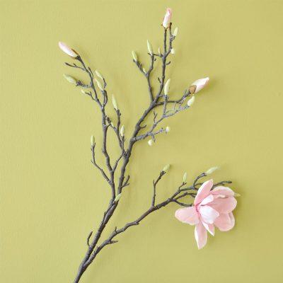 Pink Magnolia Stem110cm