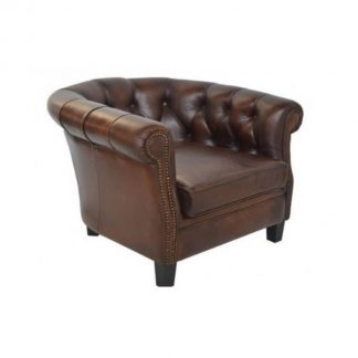 Newton Leather Club Chair