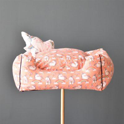 Unicorn Pet Bed – Orange